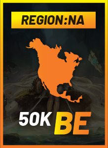 NA 50k on a gradient background