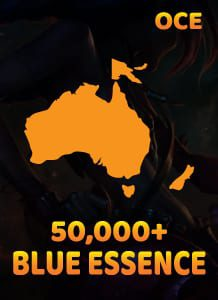 OCE 50,000 Blue essence lol