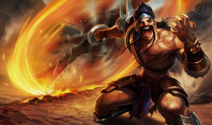 Draven laugh