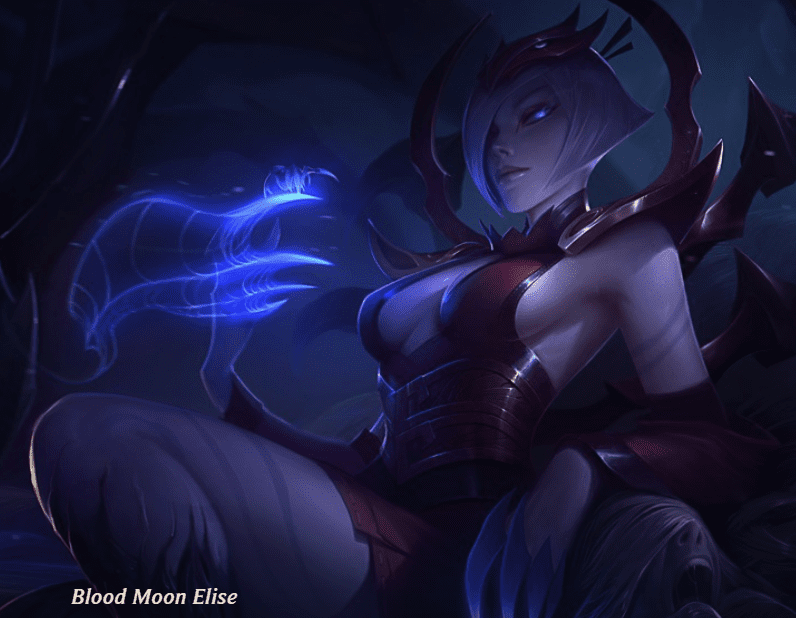 Blood Moon Skin Elise Series
