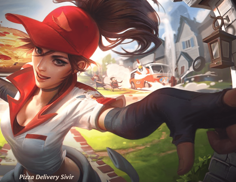Pizza Delivery Skin Sivir Series