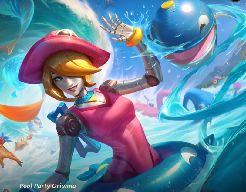 Pool Party Skin Orianna Series