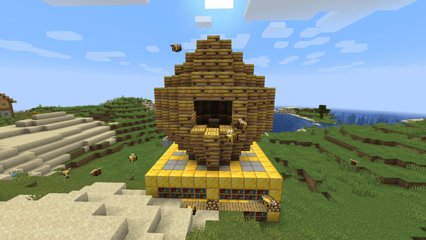 Honeycomb Minecraft