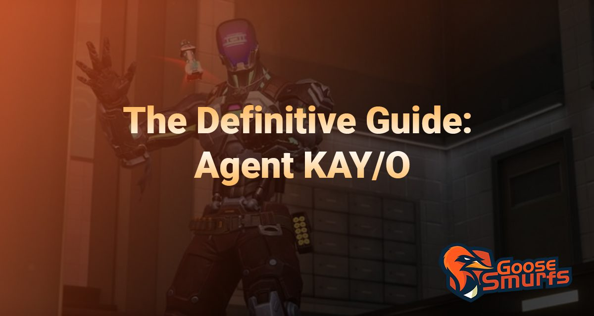 Kay/o Guide on a gradient background