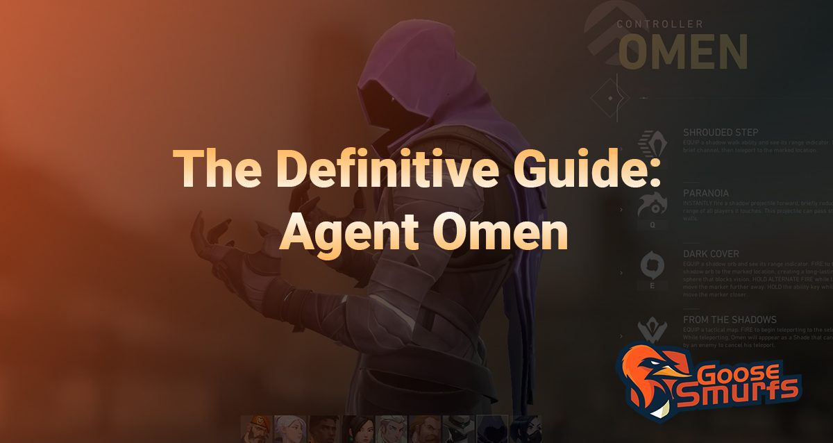Omen guide on a gradient background